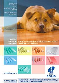 Product catalogue of underlay